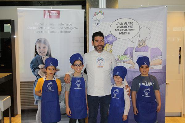 el miele experience center de alcobendas acoge la final del concurso jvenes estrellas de la cocina de educachef