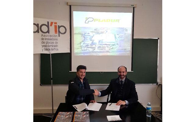 pladur firma un nuevo acuerdo de colaboracin y patrocinio con adip