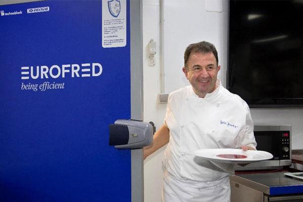 martn berasategui elige a eurofred para su cocina