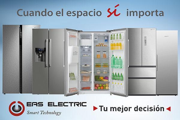eas electric lanza sus frigorficos de mayor capacidad y mejores prestaciones