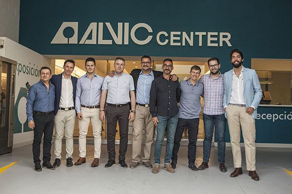 grupo alvic inaugura un nuevo center en mlaga