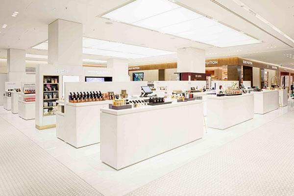 himacs decora un emblemtico centro comercial en alemania