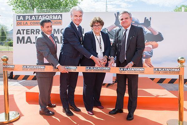 la plataforma de la construccin celebra el acto de inauguracin oficial de su centro en majadahonda