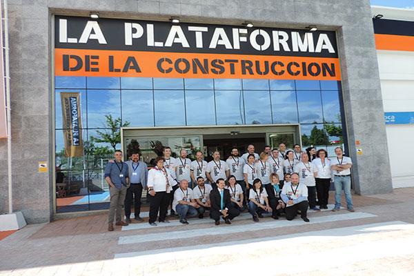 la plataforma de la construccin inaugura un nuevo centro en majadahonda