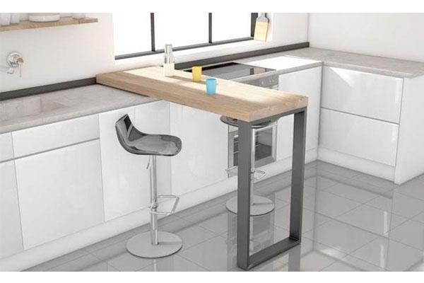 Barra Slide de Cancio, diseño y funcionalidad en la cocina
