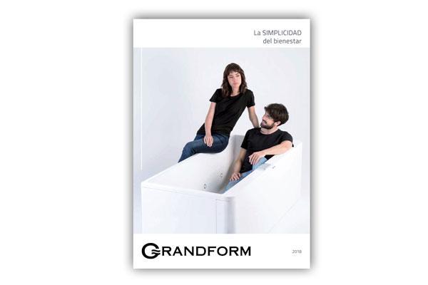 grandform renueva su porfolio de baeras y cabinas de ducha en su nuevo catlogotarifa 2018