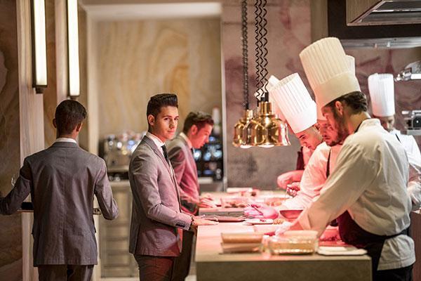 levantina decora tres restaurantes con estrella michelin
