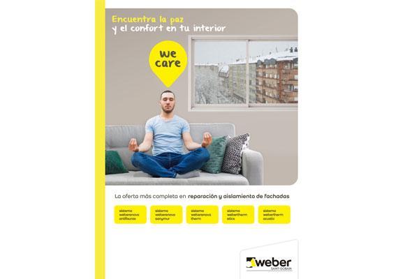 weberenova y webertherm la gama ms completa de weber en reparacin y aislamiento de fachadas