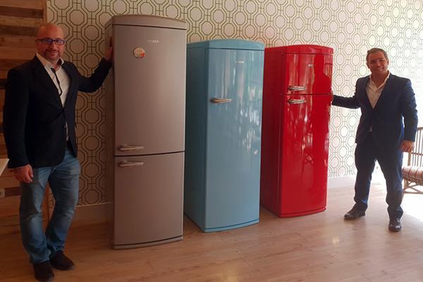 worten decora tu casa con sus frigorficos becken vintage lovers
