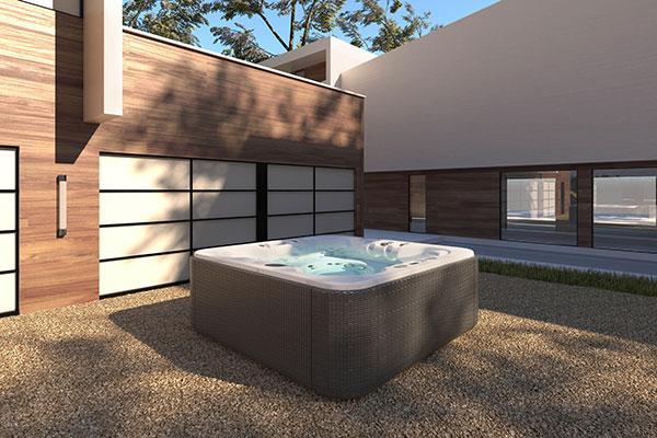 aquavia spa se suma a las ltimas tendencias en decoracin de exteriores con el mueble soft rain