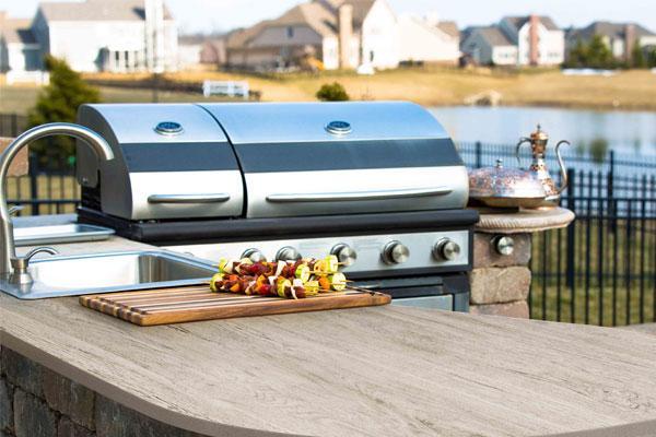 3 claves para disfrutar de una cocina al aire libre