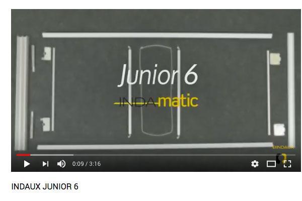 nuevo video del sistema de puertas correderas junior 6