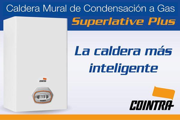 cointra lanza su nueva caldera de condensacin a gas superlative plus la caldera ms inteligente