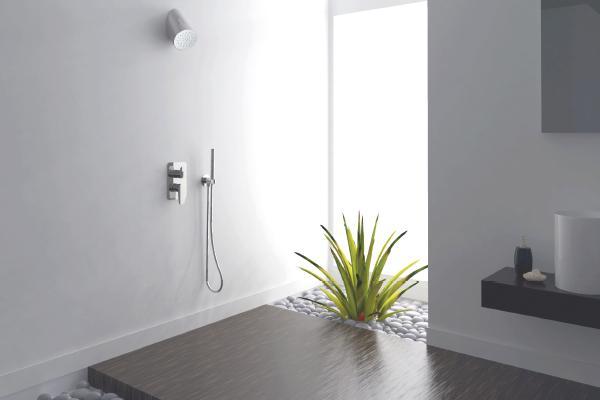 las duchas se han convertido en el elemento principal de un bao
