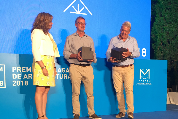 cosentino con los premios mlaga de la arquitectura 2018