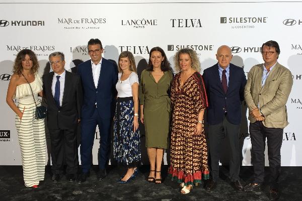 silestone es protagonista en el evento telva la moda en la calle