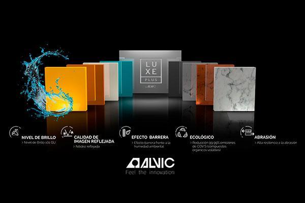 alvic presentar en sicam su innovador producto luxe plus
