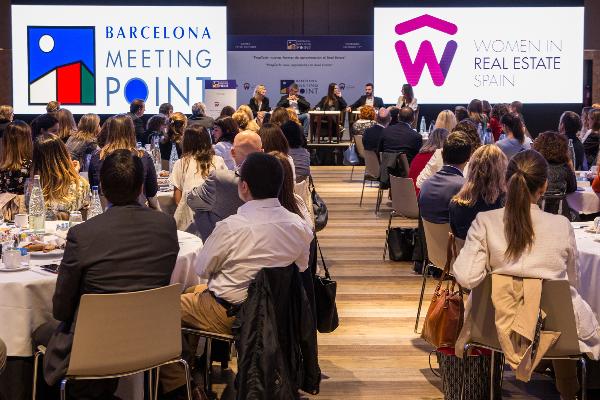 barcelona meeting point reivindicar el papel de la mujer en el sector inmobiliario