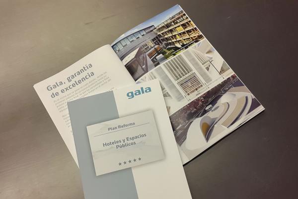 gala lanza su nuevo catlogo plan reforma dirigido a hoteles y espacios pblicos