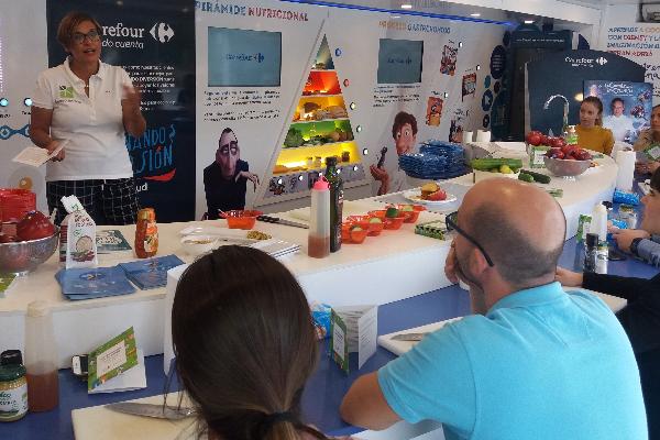 grupo cosentino promueve el conocimiento en nutricin y seguridad alimentaria entre sus empleados