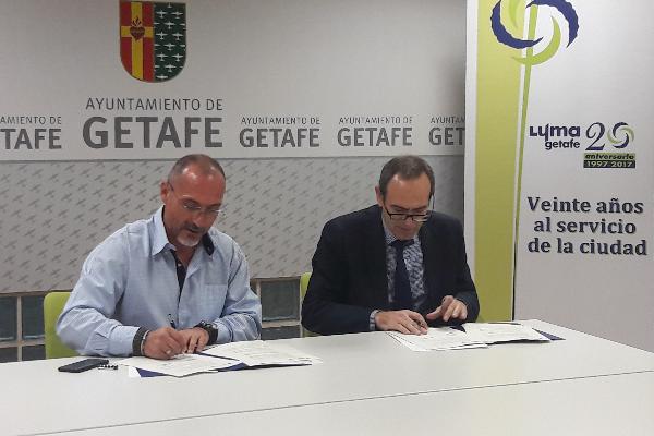 saintgobain placo y el ayuntamiento de getafe firman un acuerdo pionero en reciclaje de placa de yeso