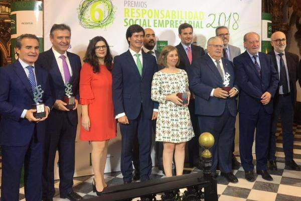 saintgobain placo recibe el premio de responsabilidad social empresarial de la confederacin de empresarios de sevilla