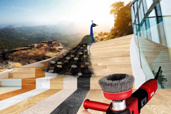 suelos espectaculares con la nueva tecnologa de cepillado exclusivo de bona