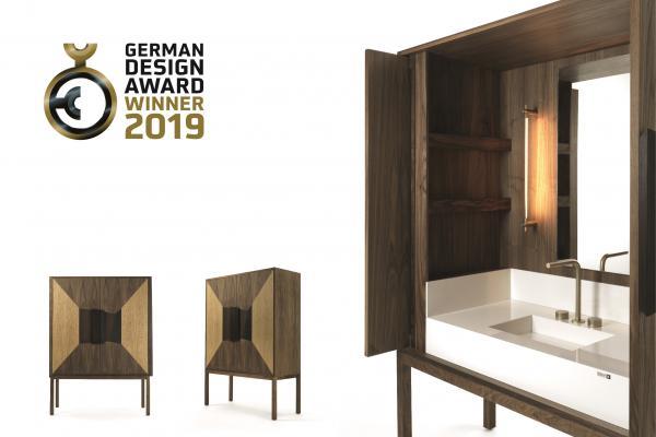 dekauri reconocido en los german design award 2019