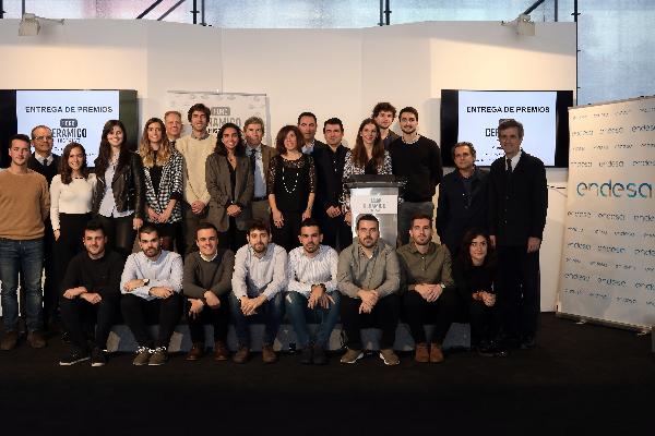 hispalyt entrega los premios del foro universitario cermico 20172018 en construtec