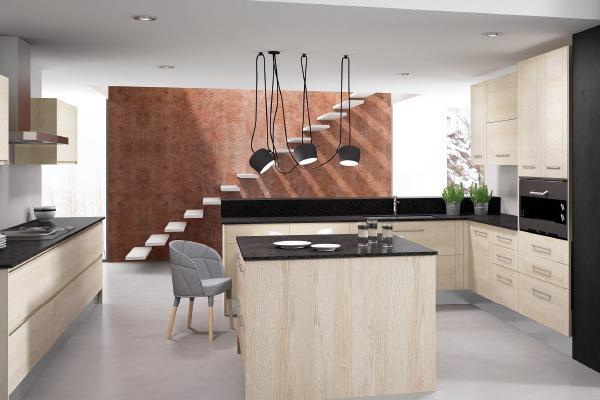 los muebles de cocina han dejado de ser monocromticos
