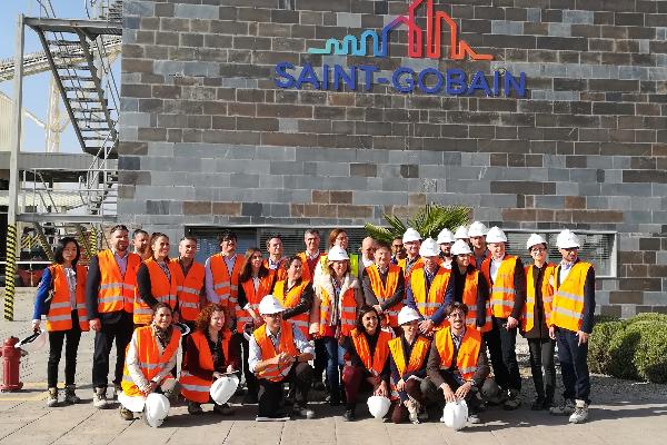 saintgobain placo acoge en su sede la reunin del primer aniversario del proyecto europeo rezbuild