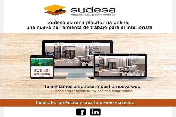 sudesa estrena nueva plataforma online que servir de herramienta de trabajo para el interiorista