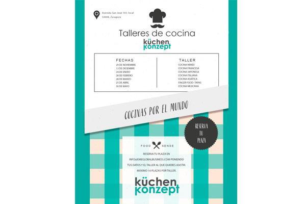 arrancan los talleres gastronmicos kchen konzept