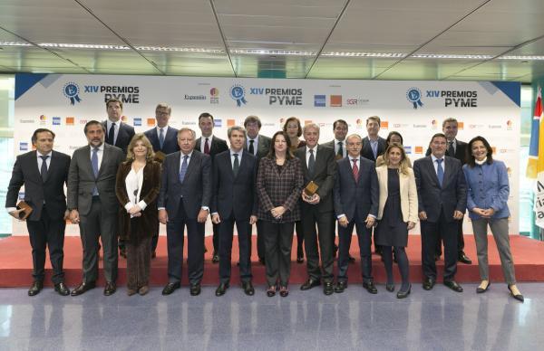 ifema y expansin entregan los xiv premios pyme a las mejores empresas del ao