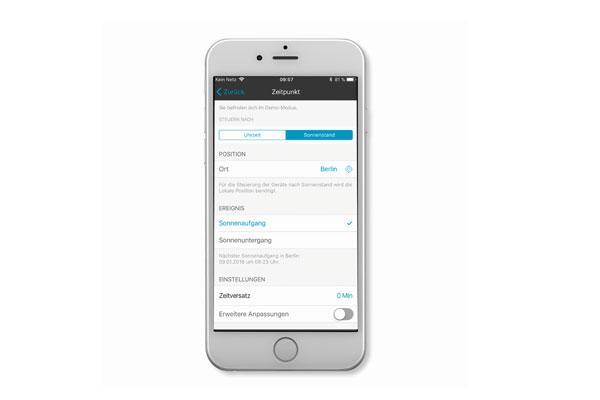 jung potencia su sistema de control lb management con una app para smartphones va bluetooth