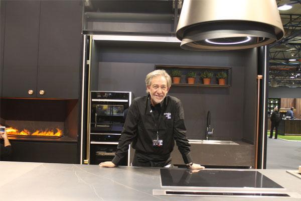 antalia presenta en sici 2019 una cocina de autor diseada por la arquitecta teresa sapey y el chef diego ferrer