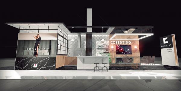 cosentino muestra sus ltimas propuestas en colores y formatos para dekton silestone y sensa en espacio cocina sici 2019