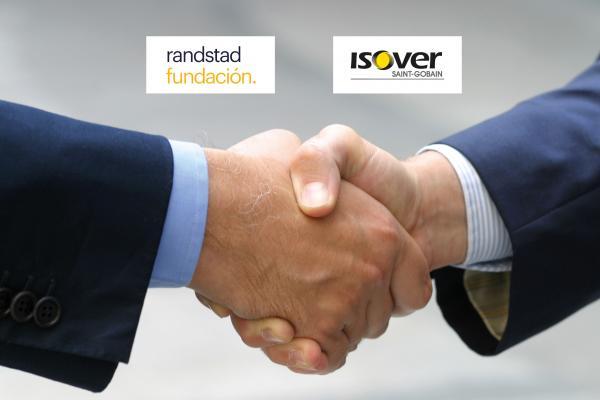 isover renueva su acuerdo de colaboracin con fundacin randstad para la insercin sociolaboral de profesionales con discapacidad