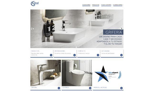 nueva pgina web de ideal standard iberia