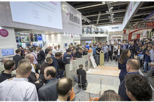 rehau presentar sus ltimas soluciones para la construccin y sistemas de climatizacin en la feria ish de frankfurt