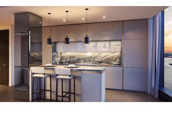 aran cucine participa en el proyecto 125 greenwich street de nueva york