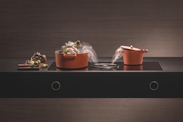 bora basic placa de coccin y extractor de superfcie como sistema compacto para cualquier cocina