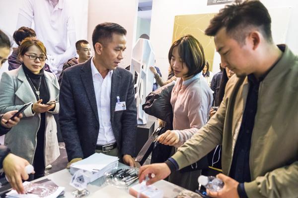compac muestra su trangresora visin del diseo aplicado al cuarzo tecnolgico en design shanghai 2019