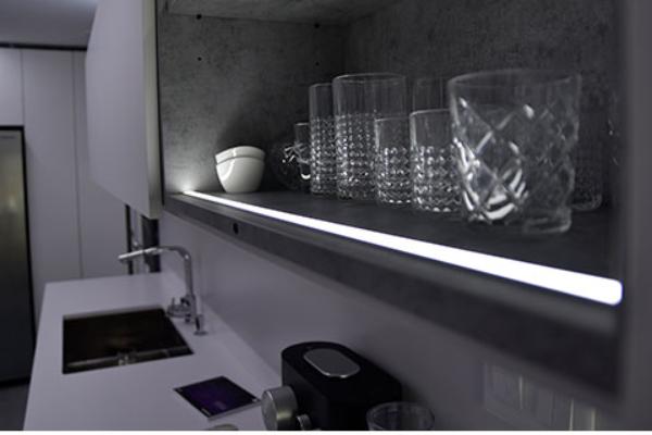 servicanto presenta nuevos difusores para tiras led ideles para la iluminacin de muebles de cocina y bao