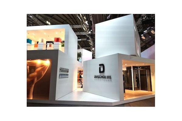 duscholux estrena nueva imagen y cinco nuevos productos en ish frankfurt