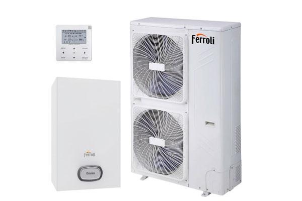 ferroli sigue con su apuesta en aerotermia con la nueva bomba de calor omnia h