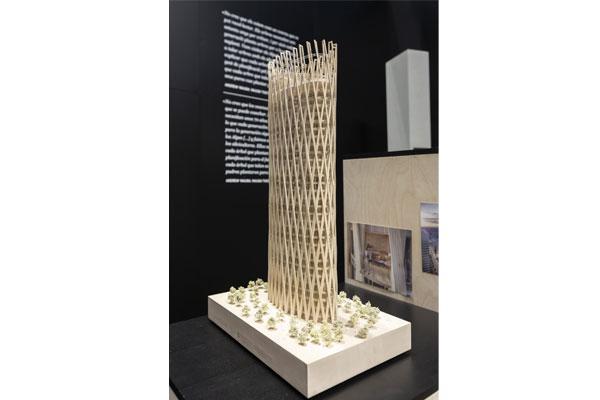 rascacielos de madera visiones verticales para las ciudades del futuro exposicin en roca barcelona gallery