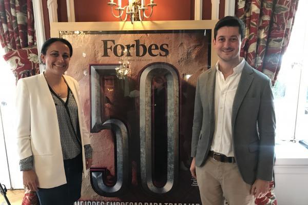 la revista forbes selecciona a grupo cosentino como una de las 50 mejores empresas para trabajar