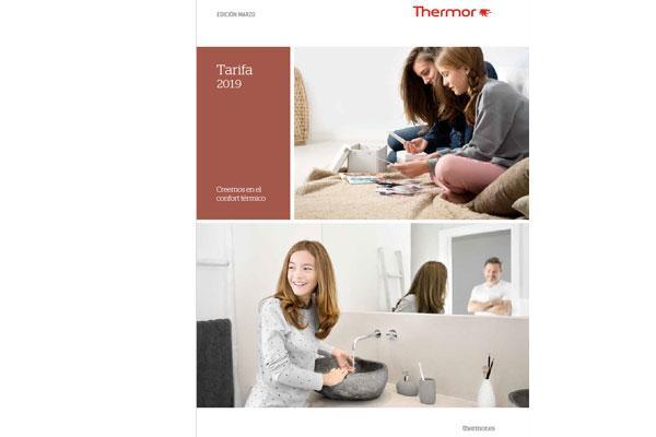 thermor presenta su nueva tarifa 2019