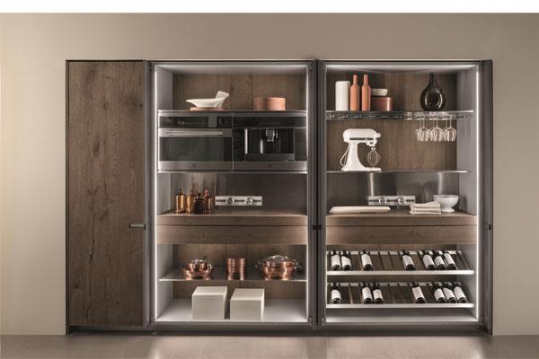 ernestomeda presenta los armarios indoor de su cocina icon